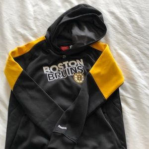 Reebok Bruins NHL Faceoff Collection Hoodie